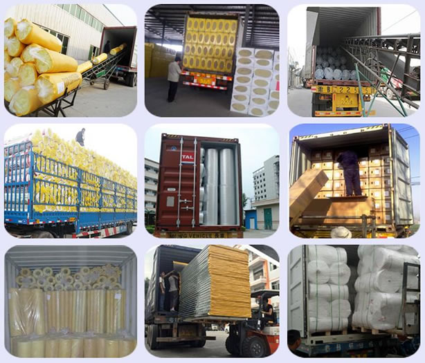 Glass wool SHIPPING