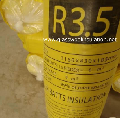 Glass Wool Insulation R3.5 GLASSWOOL-HOME-INSULATION-1160X430X185MM