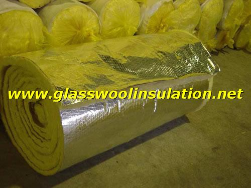 glass wool with FSK